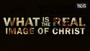 """Text Overlay of """"What is the Image of Christ"""" Over Images of """"Jesus"""""""