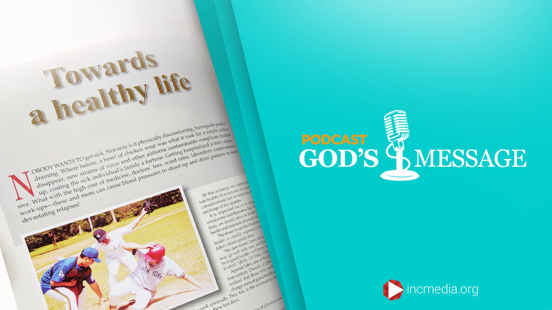 Towards a healthy life God's Message Podcast