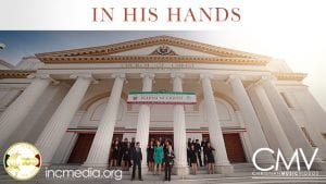 People standing in front of San Francisco Church Of Christ Iglesia Ni Cristo house of worship chapel