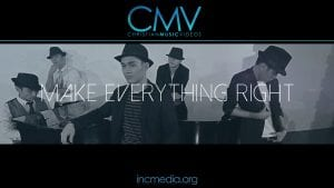 """five men wearing fedoras around a piano with overlay text: """"Make Everything Right"""""""