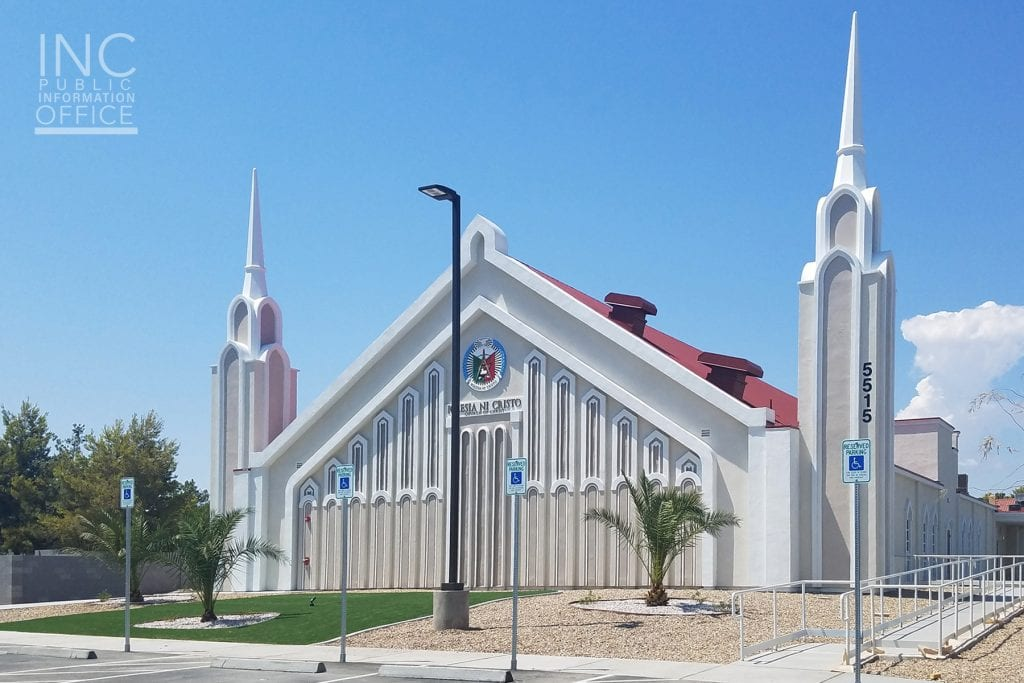 outlook of Henderson, Las Vegas Church Of Christ house of worship chapel after renovation