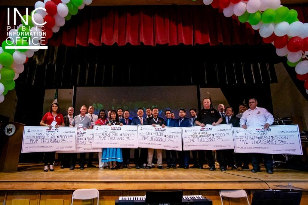 Six organizations were recognized and gifted each a $5,000 donation from the FYM Foundation to support the positive social impact of their work in the region.