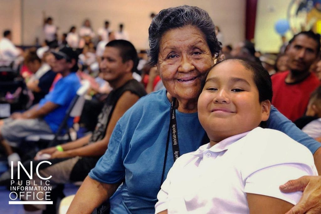 More than 4,000 free care packages were offered to families of the San Carlos Apache Reservation, known to be among the nation's poorest Native American reservations.