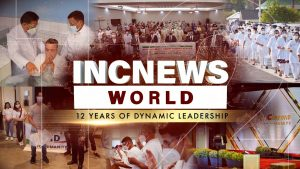 """Graphic with text """"12 YEARS OF DYNAMIC LEADERSHIP"""""""