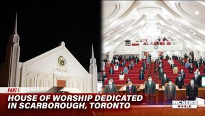 House of worship of the Iglesia Ni Cristo along side the inside of the chapel.